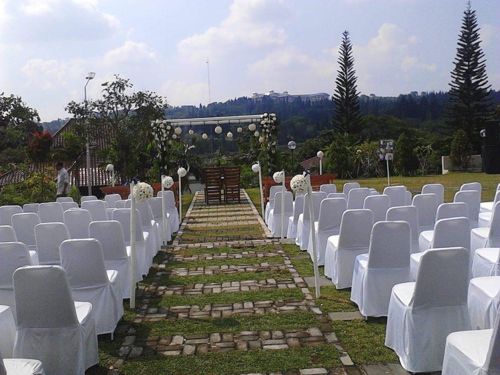 tempat pernikahan wedding outdoor murah di sentul bogor